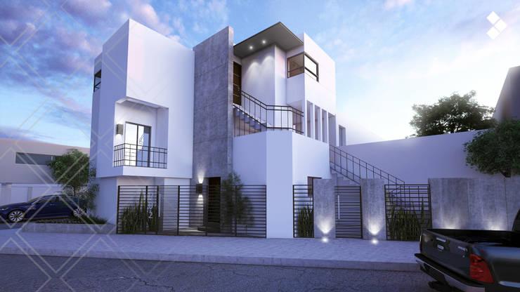 Casas de estilo moderno por CDR CONSTRUCTORA