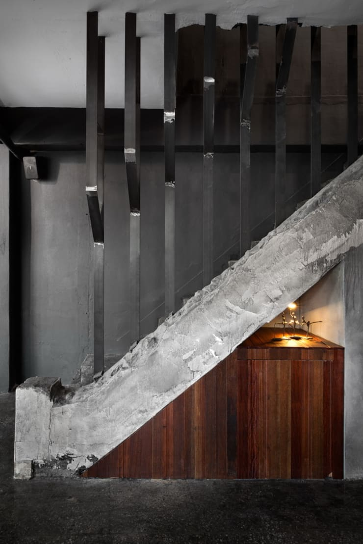Corridor, hallway & stairs by STARSIS