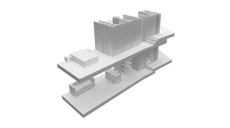 tipologia T1: Paredes  por AR arquitectura