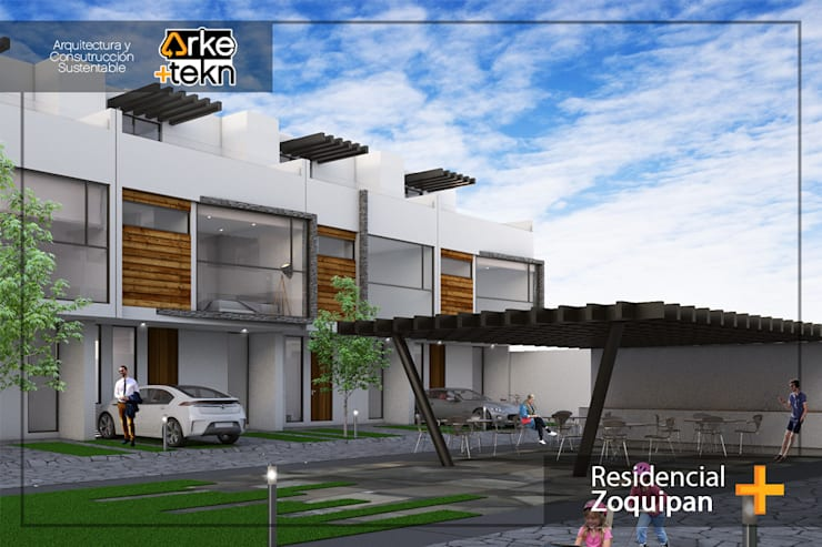 Proyecto Zoquipan :  de estilo  por Arke+tekn