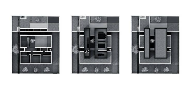 plantas ilustradas: Paredes  por AR arquitectura