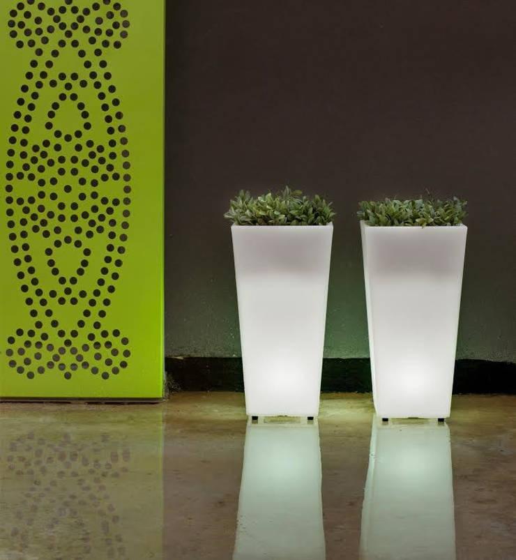 accesorios decoración: Espacios comerciales de estilo  por New Garden Venezuela