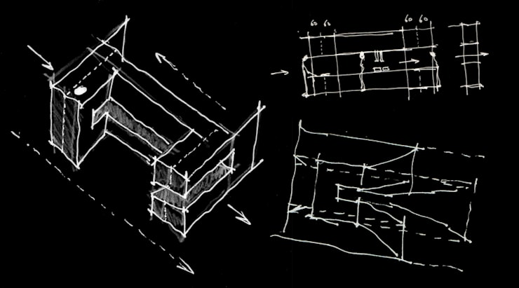 esquissos: Lojas e espaços comerciais  por AR arquitectura