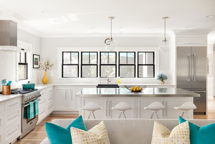 Kitchens:  Kitchen by Clean Design
