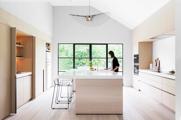 Project K: moderne Keuken door JUMA architects