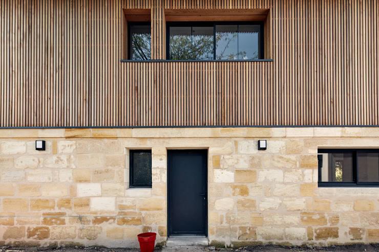Projekty,  Domy zaprojektowane przez Cendrine Deville Jacquot, Architecte DPLG, A²B2D