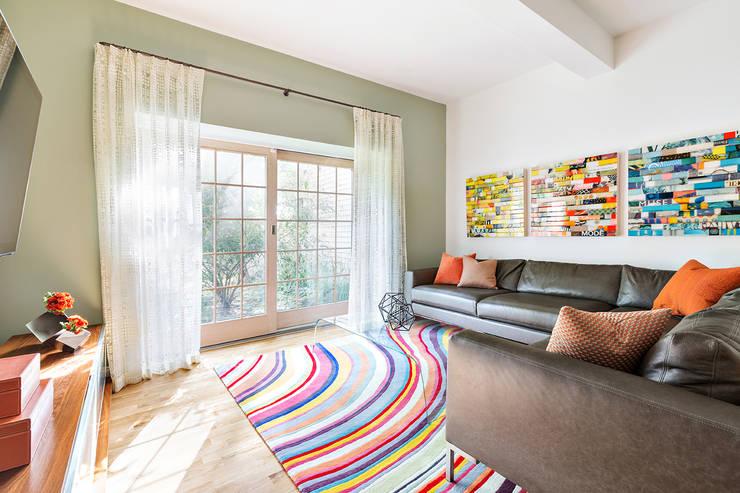 غرفة المعيشة تنفيذ Clean Design