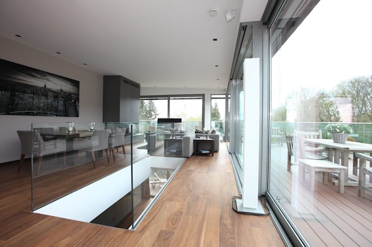 Ruang Makan Modern Oleh Neugebauer Architekten BDA Modern