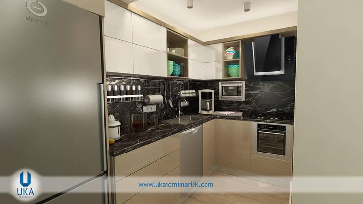 minimalistic Kitchen by Uka İçmimarlık