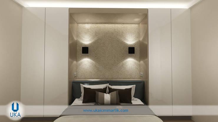 minimalistic Bedroom by Uka İçmimarlık