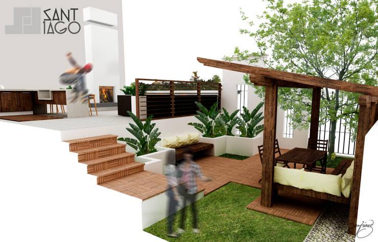 Patios & Decks by SANT1AGO arquitectura y diseño