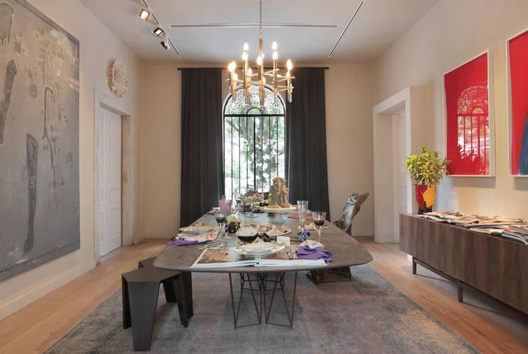 Sala de Jantar Ovoo: Salas de jantar  por Gisele Taranto Arquitetura