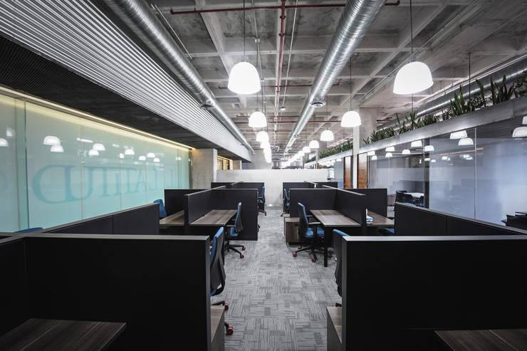 Oficinas Polaris - P+0 Arquitectura: Estudios y oficinas de estilo  por pmasceroarquitectura
