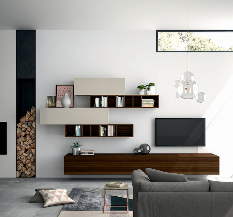 Living room by Dall'Agnese
