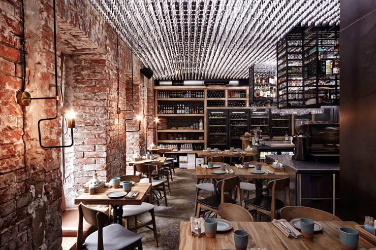 Номинация традиции: общественный интерьер: modern Dining room by Archiprofi