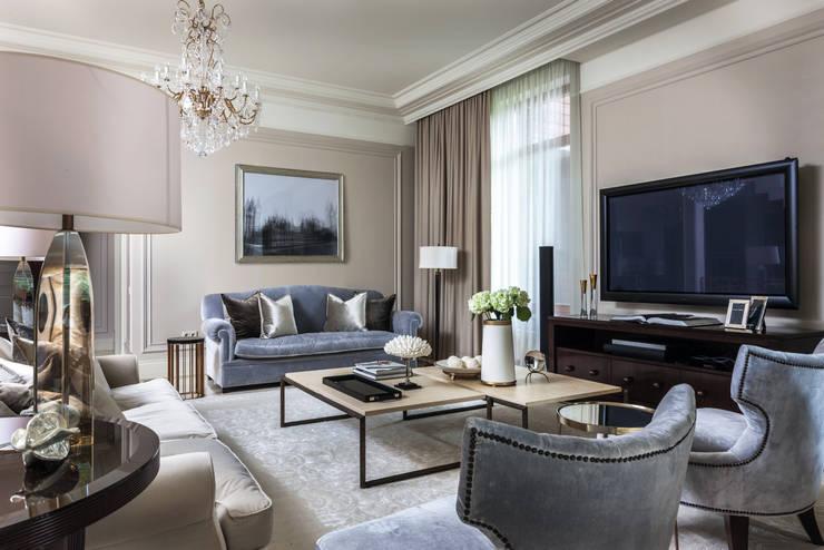 Номинация традиции: интерьер дома до 300 м: classic Living room by Archiprofi