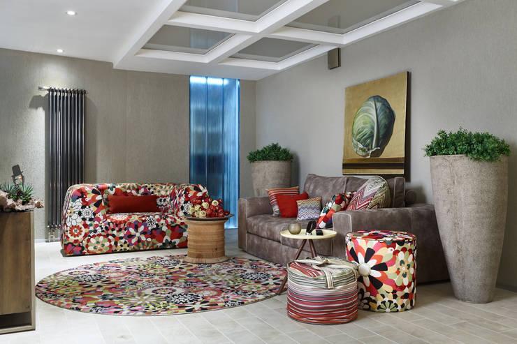 Специальная номинация от CarpetsART: modern Living room by Archiprofi