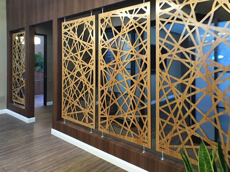 Office spaces & stores  تنفيذ NATUREL METAL FERFORJE