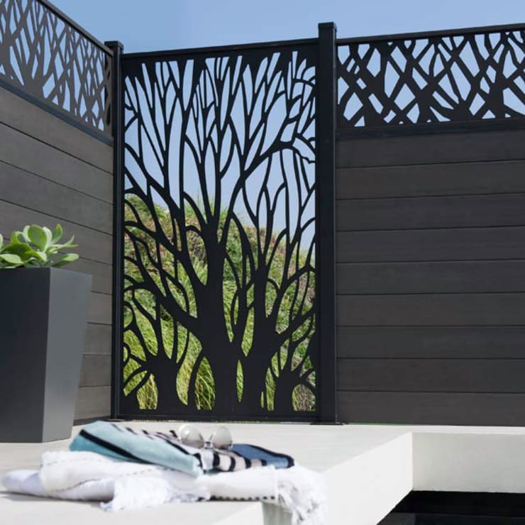 modern Garden by NATUREL METAL FERFORJE