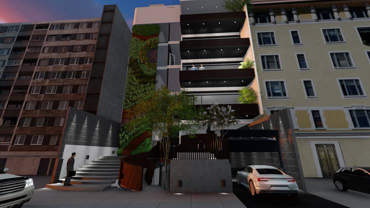 Casas de estilo  por Diseño Alternativo Hera