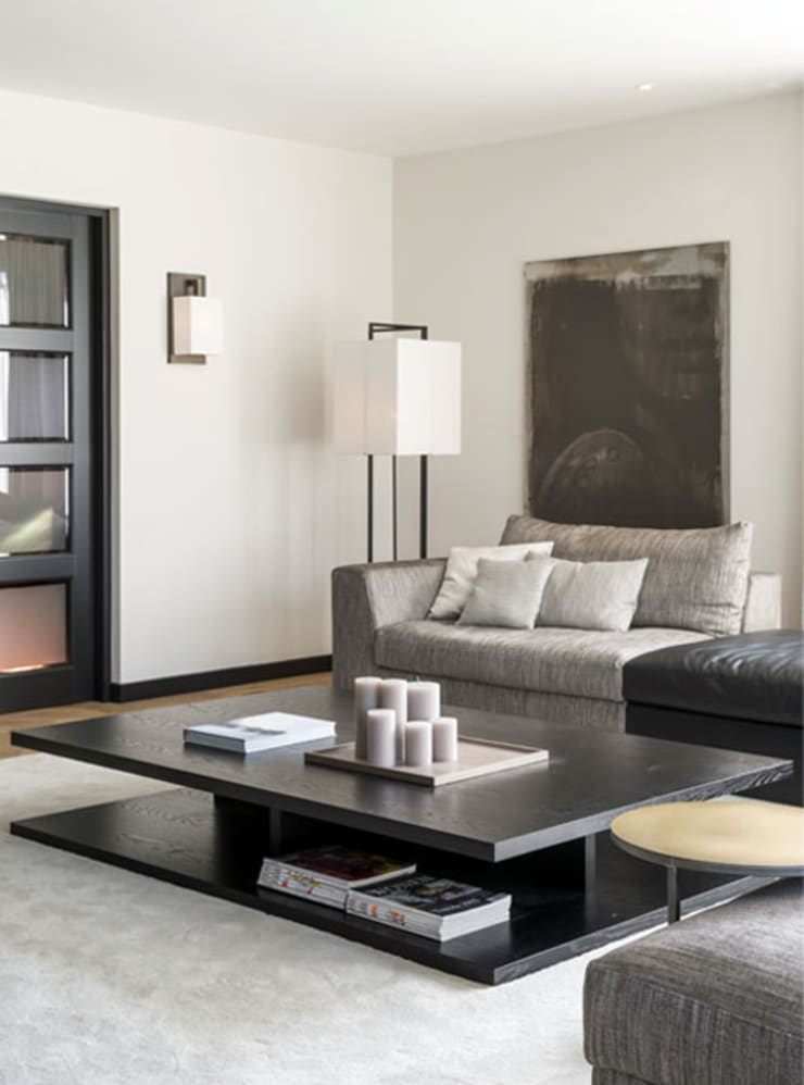 Salon de style  par choc studio interieur,