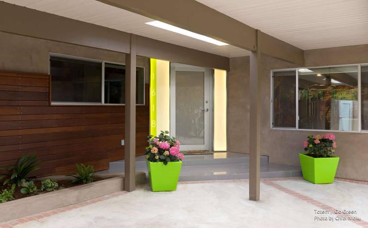 Projekty, nowoczesne Domy zaprojektowane przez Chibi Moku