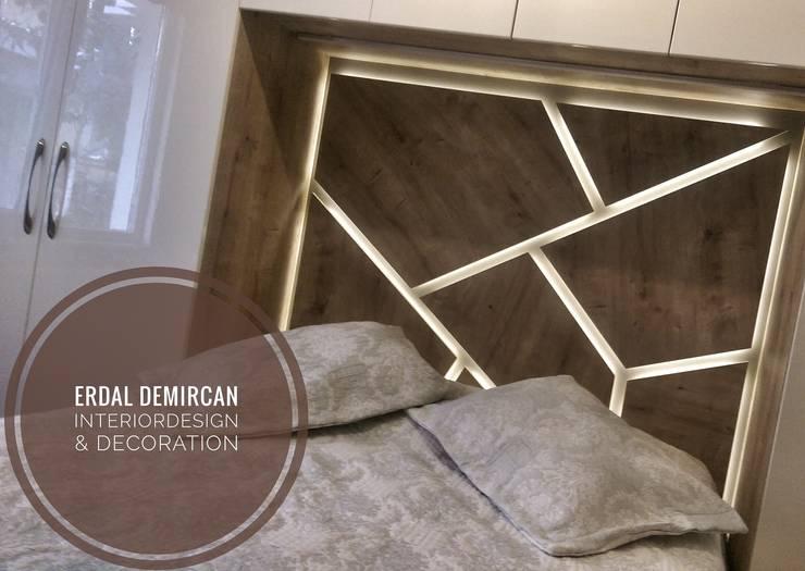 Erdal Demircan İç Tasarım ve Dekorasyon – Erdal Demircan İçtasarım ve Dekorasyon:  tarz Yatak Odası