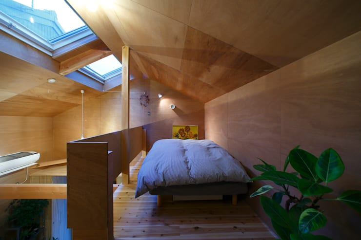 tiny house: FORMA建築研究室が手掛けた寝室です。