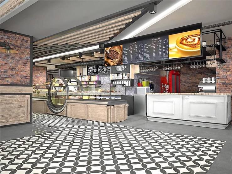 Murat Aksel Architecture – Sivas / amade restaurant cafe:  tarz Yemek Odası, Kırsal/Country Ahşap Ahşap rengi