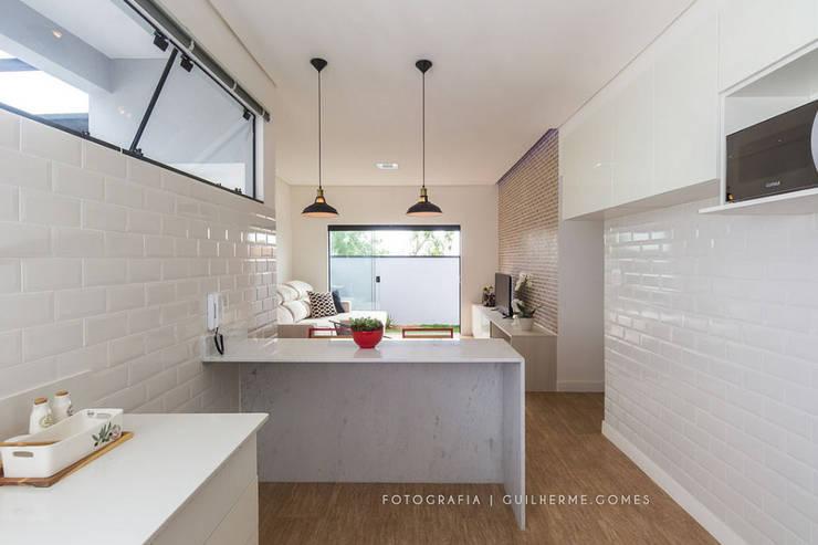 Cozinhas  por Alkaa Arquitetos Associados