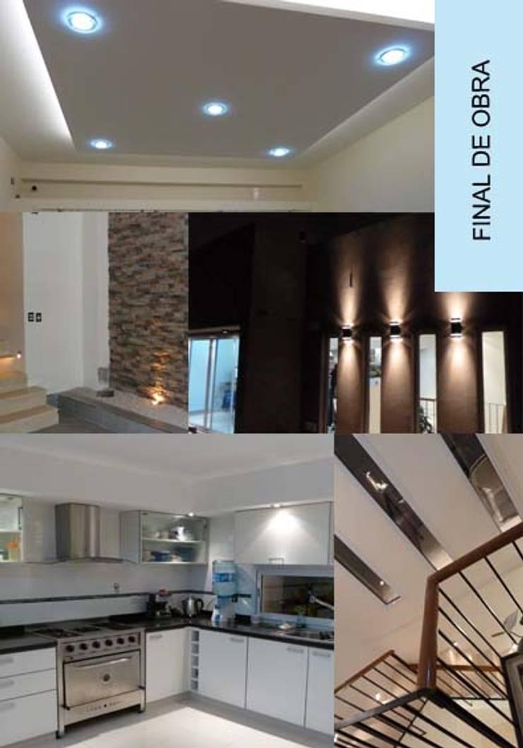Casa Piran :  de estilo  por Nuevo Espacio,