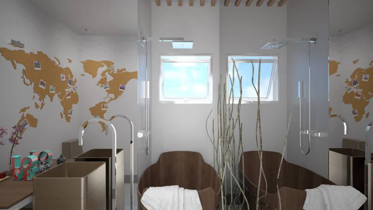 Concurso Estudos Deca: Banheiros  por KC ARQUITETURA urbanismo e design