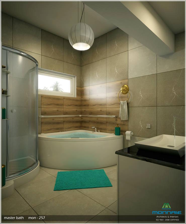 Bathroom by Monnaie Architects & Interiors