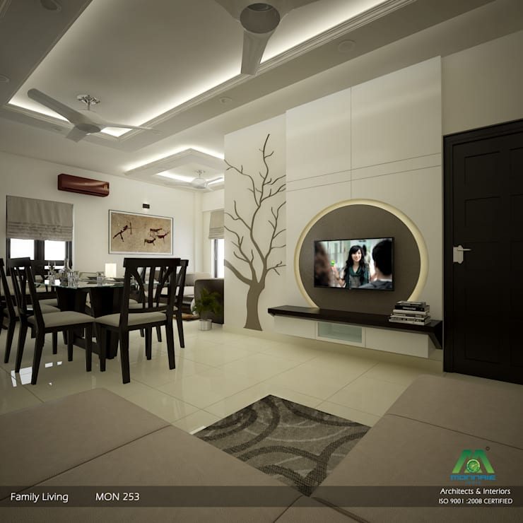 Fabulous Contemporary Interior Design:  Dining room by Premdas Krishna