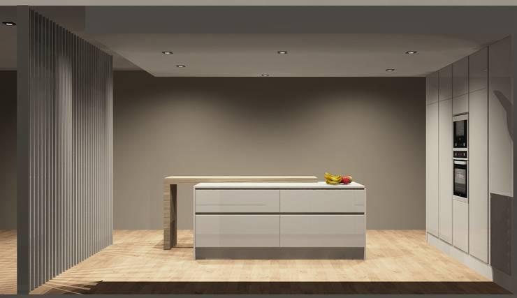 Cozinhas: Cozinhas  por Amplitude - Mobiliário lda
