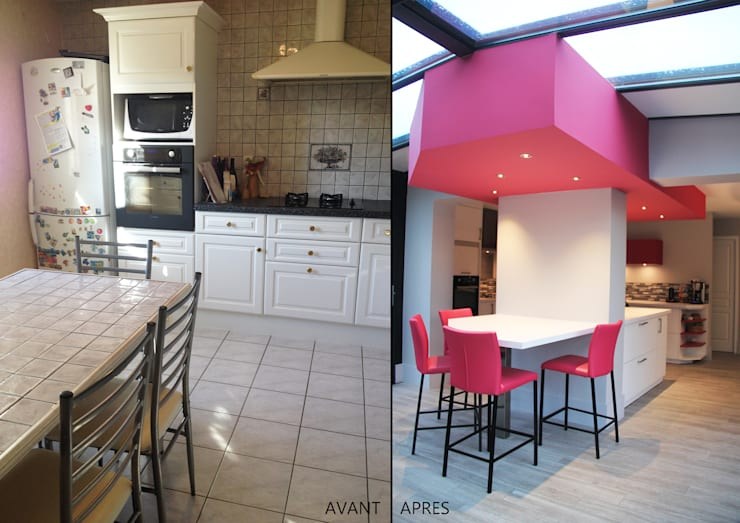 vorher nachher altmodische wohnung bekommt modernes flair. Black Bedroom Furniture Sets. Home Design Ideas