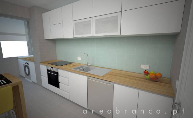 Cozinha Depois:   por Areabranca