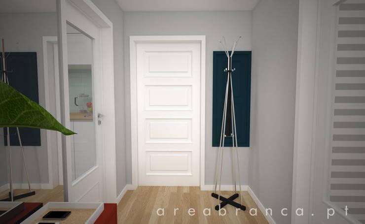Hall de Entrada Depois:   por Areabranca