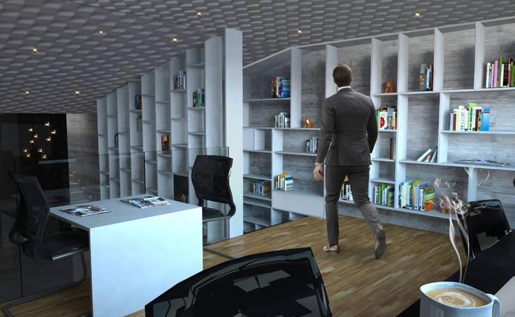 Sala de consulta : Salas de estilo  por Arquitectos M253