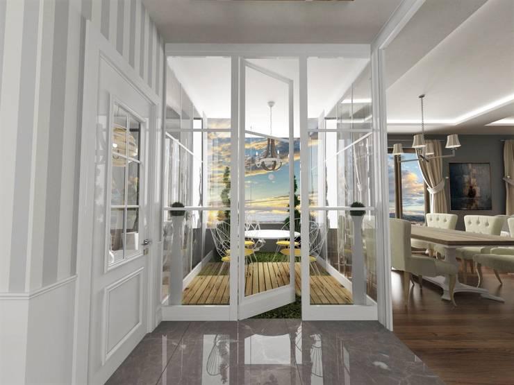 Projekty,  Balkon, weranda i taras zaprojektowane przez Murat Aksel Architecture