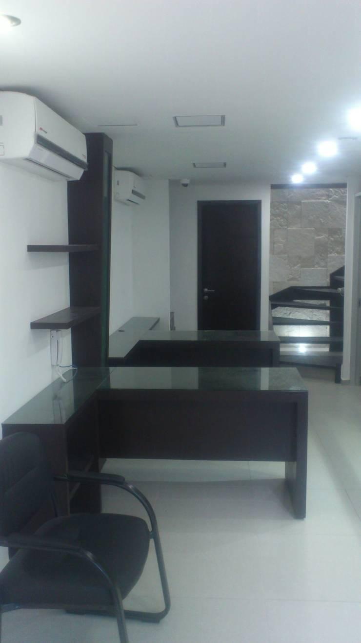 AREA ADMON: Estudios y oficinas de estilo  por DISEÑO APLICADO AVANZADO DE GUADALAJARA 2