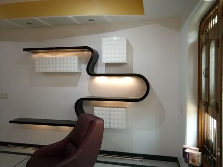 Residential Project At Janakpuri:   by EBEESDECOR