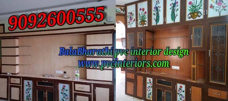 pvc modular kitchen in hosur  pvc kitchen cabinets in hosur Balabharathi: modern Kitchen by balabharathi pvc interior design