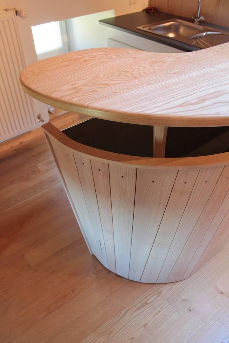meuble bar par Atelier Bois Dlilio | homify
