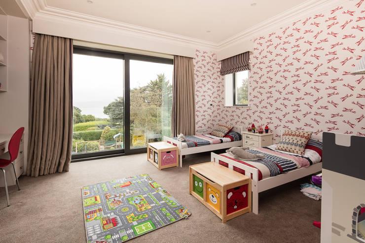 klasieke Slaapkamer door Des Ewing Residential Architects