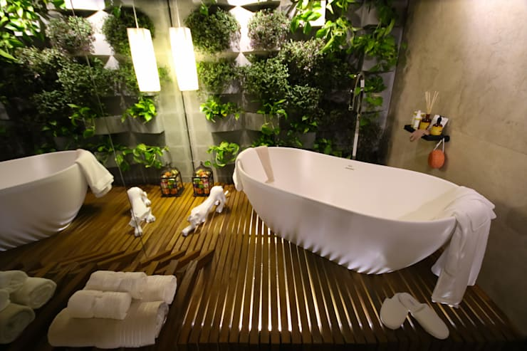 modern Bathroom by RMS arquitetura e interiores