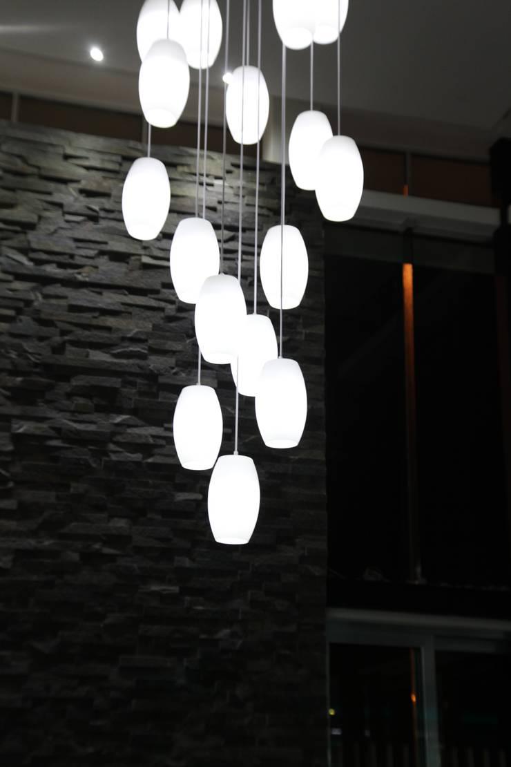 CASA BALLENA: Paredes de estilo  por Diseño Aplicado Avanzado de Guadalajara