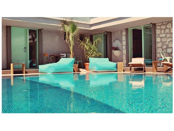 BRERA TUR İNŞ SAN TİC LTD ŞTİ – brera otel alaçatı:  tarz Oteller, Akdeniz