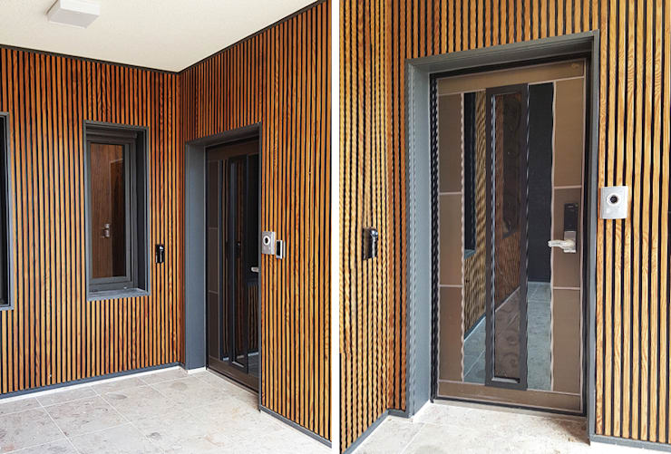 Corridor & hallway by 지성하우징