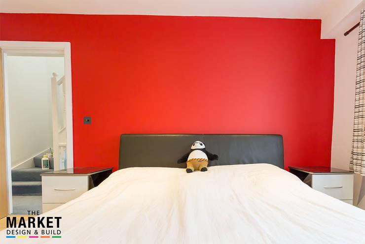 Master Bedroom: modern Bedroom by The Market Design & Build